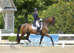 Developing Horse Prix St Georges National Championships. (Carolynn Bunch Photo)